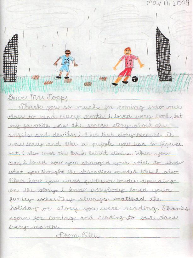 Callie's Letter