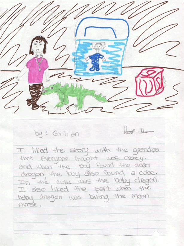 Gillian's Letter