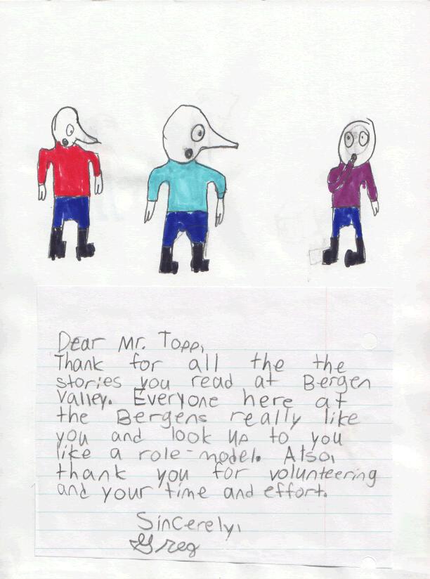 Greg's Letter