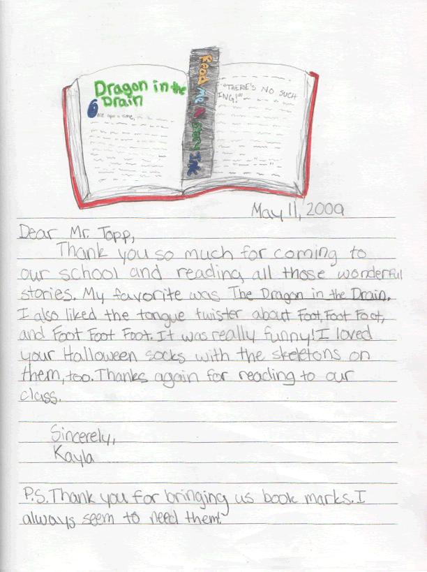 Kayla's Letter