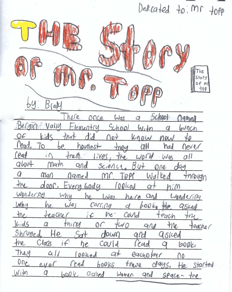 The Story of Mr. Topp page 0